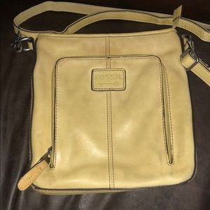 Fossil crossbody genuine leather